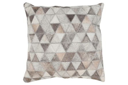 Accent Pillow-Rockefeller Hide 18X18 - Main