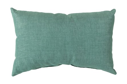 Accent Pillow-Stella Solid Teal 13X20 - Main
