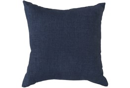 Accent Pillow-Stella Solid Navy 22X22