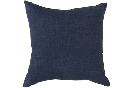 Accent Pillow-Stella Solid Navy 22X22 - Main