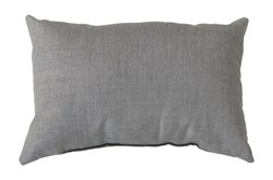 Accent Pillow-Stella Solid Grey 13X20