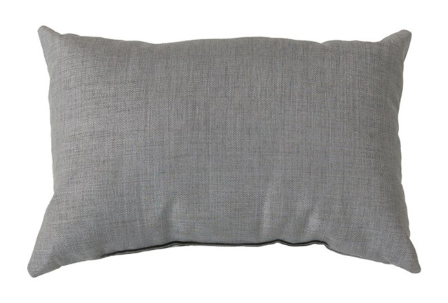 Accent Pillow-Stella Solid Grey 13X20 - 360