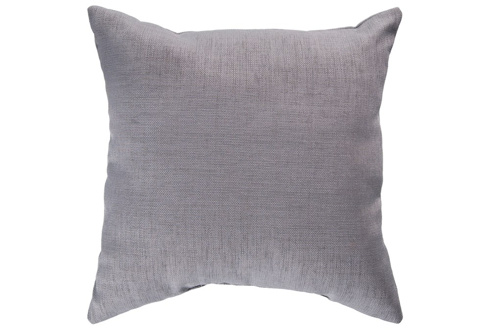 Accent Pillow-Stella Solid Grey 22X22