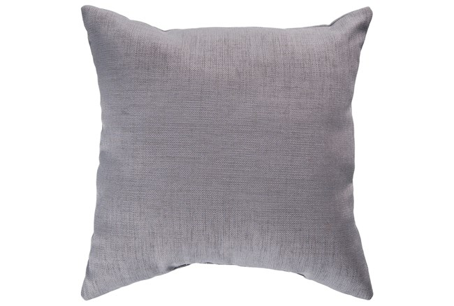 Accent Pillow-Stella Solid Grey 22X22 - 360