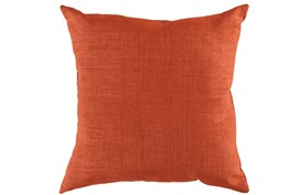 Accent Pillow-Stella Solid Rust 22X22