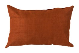 Accent Pillow-Stella Solid Rust 13X20
