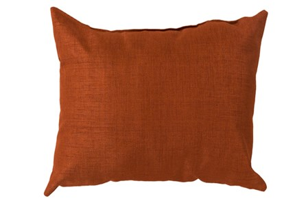 Accent Pillow-Stella Solid Rust 22X22 - Main
