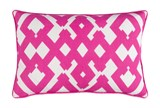 Accent Pillow-Langley Zig Zag Geo Pink/Ivory 13X20 - Signature