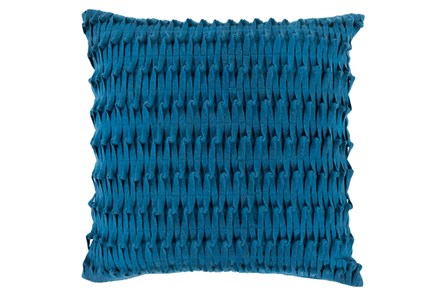 Accent Pillow-Carly Teal 22X22 - Main