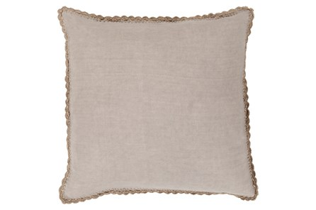Accent Pillow-Alyssa Taupe 20X20 - Main