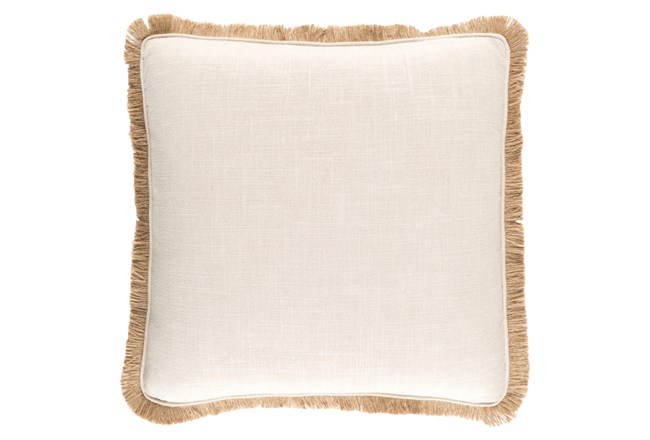 Accent Pillow-Alyssa II Beige 18X18 - 360