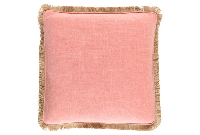 Accent Pillow-Alyssa II Coral 22X22 - 360