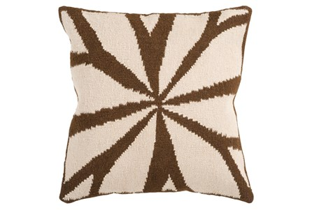 Accent Pillow-Farley Chocolate 18X18