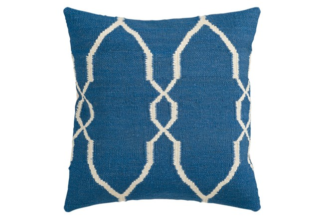 Accent Pillow-Mallory Cobalt 18X18 - 360