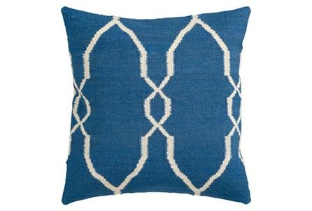 Accent Pillow-Mallory Cobalt 22X22