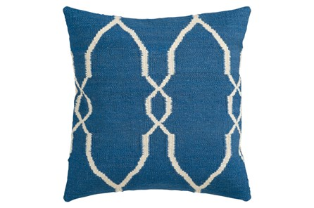 Accent Pillow-Mallory Cobalt 22X22 - Main