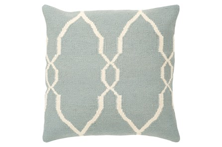 Accent Pillow-Mallory Slate 22X22 - Main