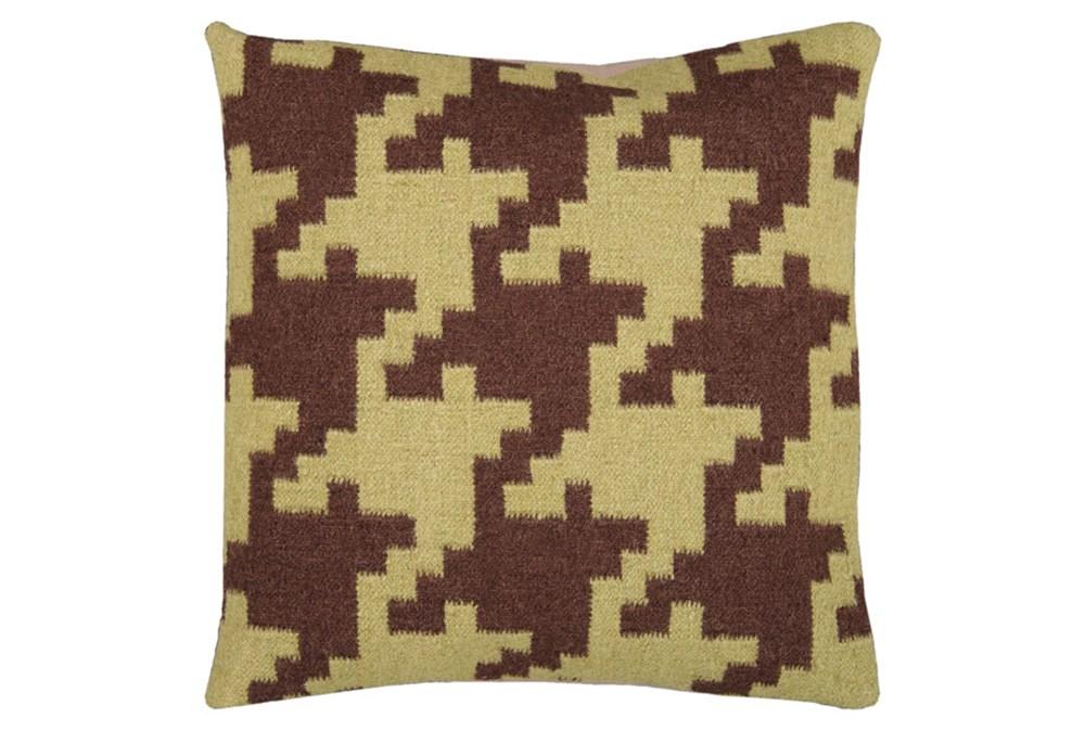 Accent Pillow-Carlton Chocolate 20X20