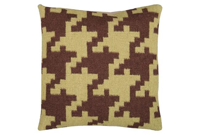 Accent Pillow-Carlton Chocolate 20X20 - 360