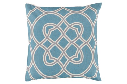 Accent Pillow-Jocelyn Blue 22X22 - Main