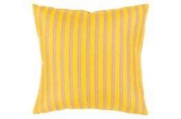 Accent Pillow-Brinley Stripe Sunflower 16X16