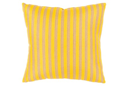 Accent Pillow-Brinley Stripe Sunflower 20X20