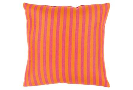 Accent Pillow-Brinley Stripe Orange 16X16
