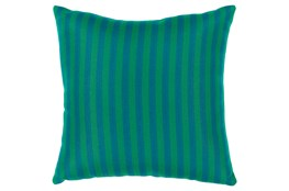 Accent Pillow-Brinley Stripe Teal 20X20