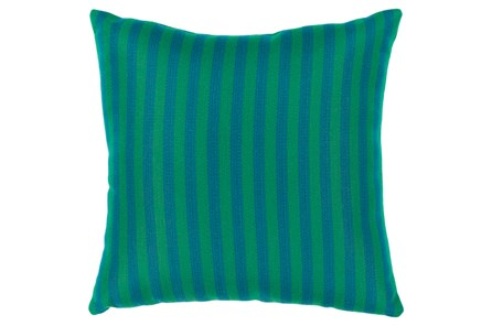 Accent Pillow-Brinley Stripe Teal 20X20
