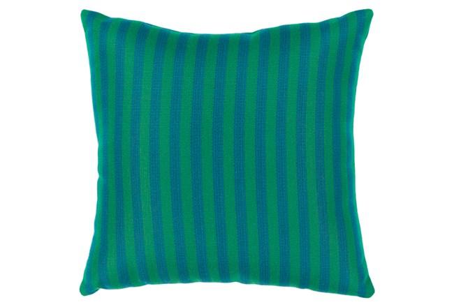 Accent Pillow-Brinley Stripe Teal 20X20 - 360