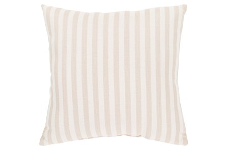 Accent Pillow-Brinley Stripe Ivory 16X16 - Main