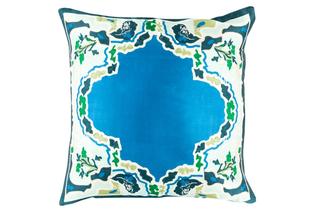 Accent Pillow-Geiko Multi Blue18X18