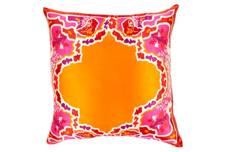 Accent Pillow-Geiko Multi Orange 18X18