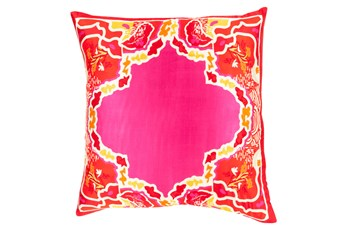 Accent Pillow-Geiko Multi Pink 18X18