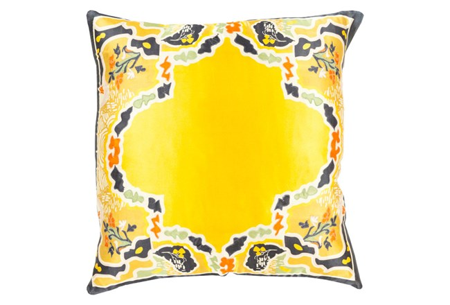 Accent Pillow-Geiko Multi Yellow 18X18 - 360
