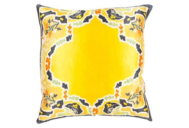 Accent Pillow-Geiko Multi Yellow 18X18 - 360