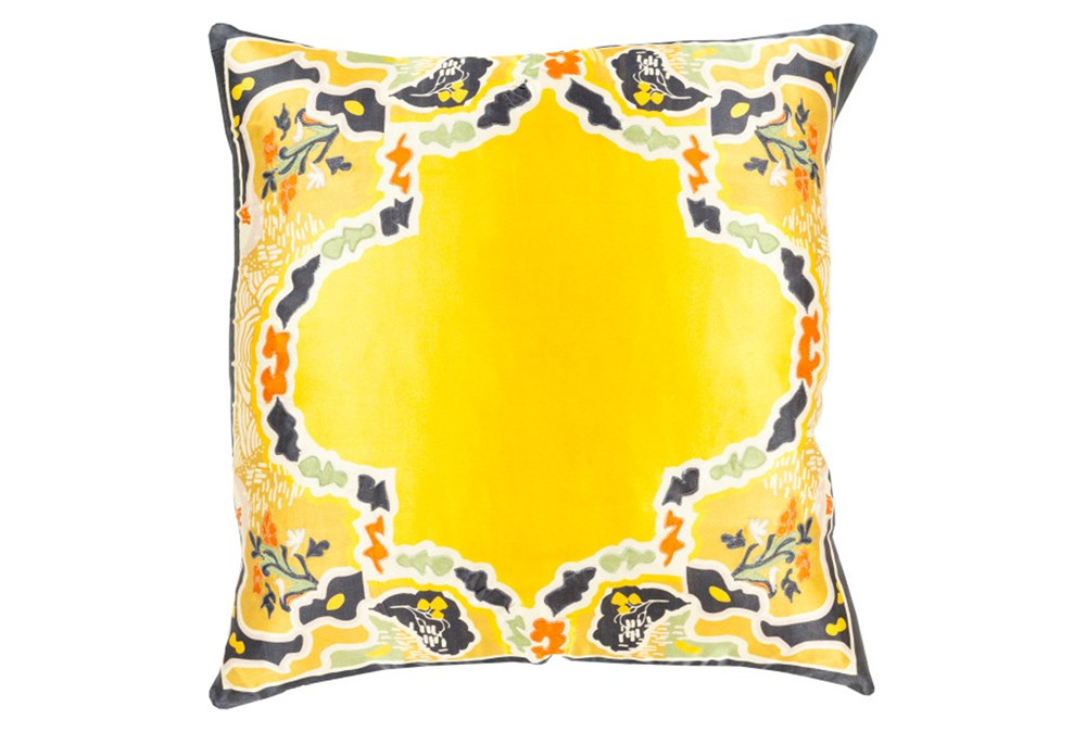 Accent Pillow-Geiko Multi Yellow 20X20