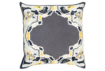 Accent Pillow-Geiko Multi Grey 20X20