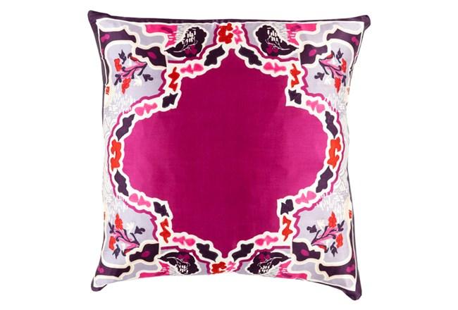 Accent Pillow-Geiko Multi Purple 18X18 - 360
