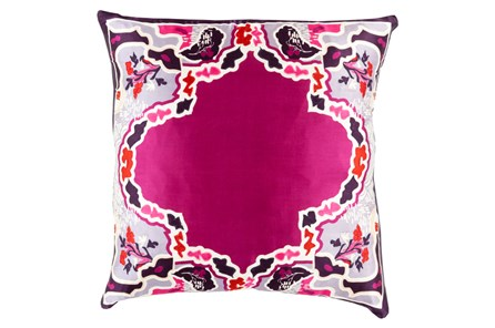 Accent Pillow-Geiko Multi Purple 20X20