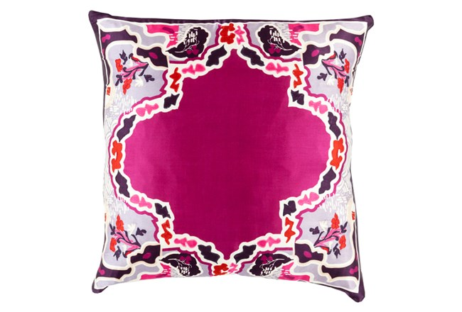 Accent Pillow-Geiko Multi Purple 20X20 - 360