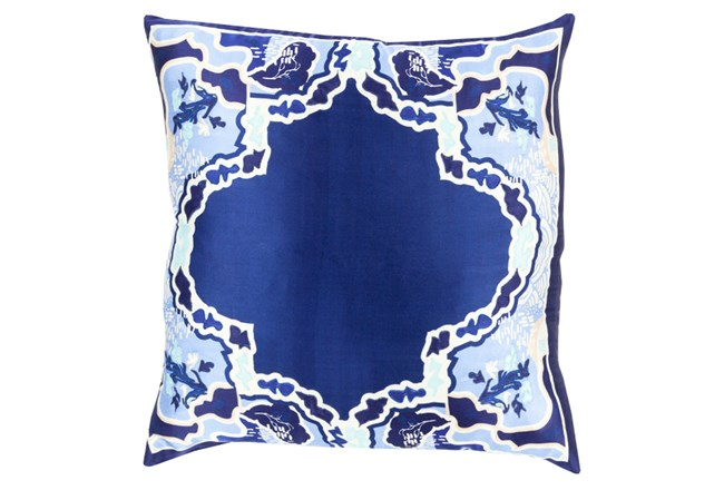 Accent Pillow-Geiko Multi Navy 18X18 - 360