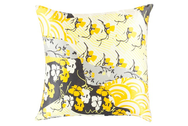 Accent Pillow-Niko Yellow 18X18 - 360