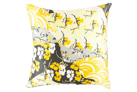 Accent Pillow-Niko Yellow 20X20