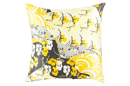 Accent Pillow-Niko Yellow 20X20 - Main
