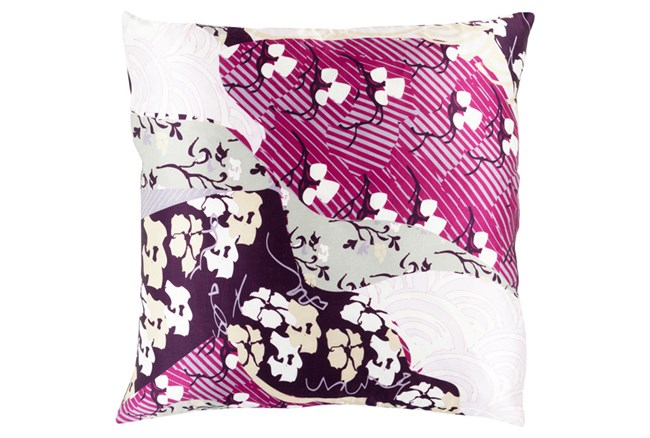 Accent Pillow-Niko Purple 18X18 - 360