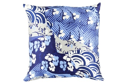 Accent Pillow-Niko Blue 20X20 - Main
