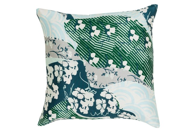Accent Pillow-Niko Teal 18X18 - 360