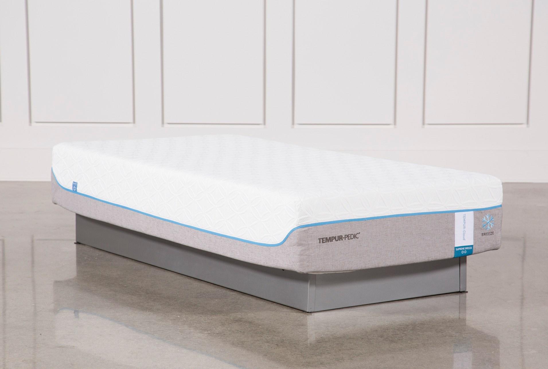 decorative mattress cover. Tempur-Pedic Cloud Supreme Breeze 2.0 Twin Extra Long Mattress Decorative Cover