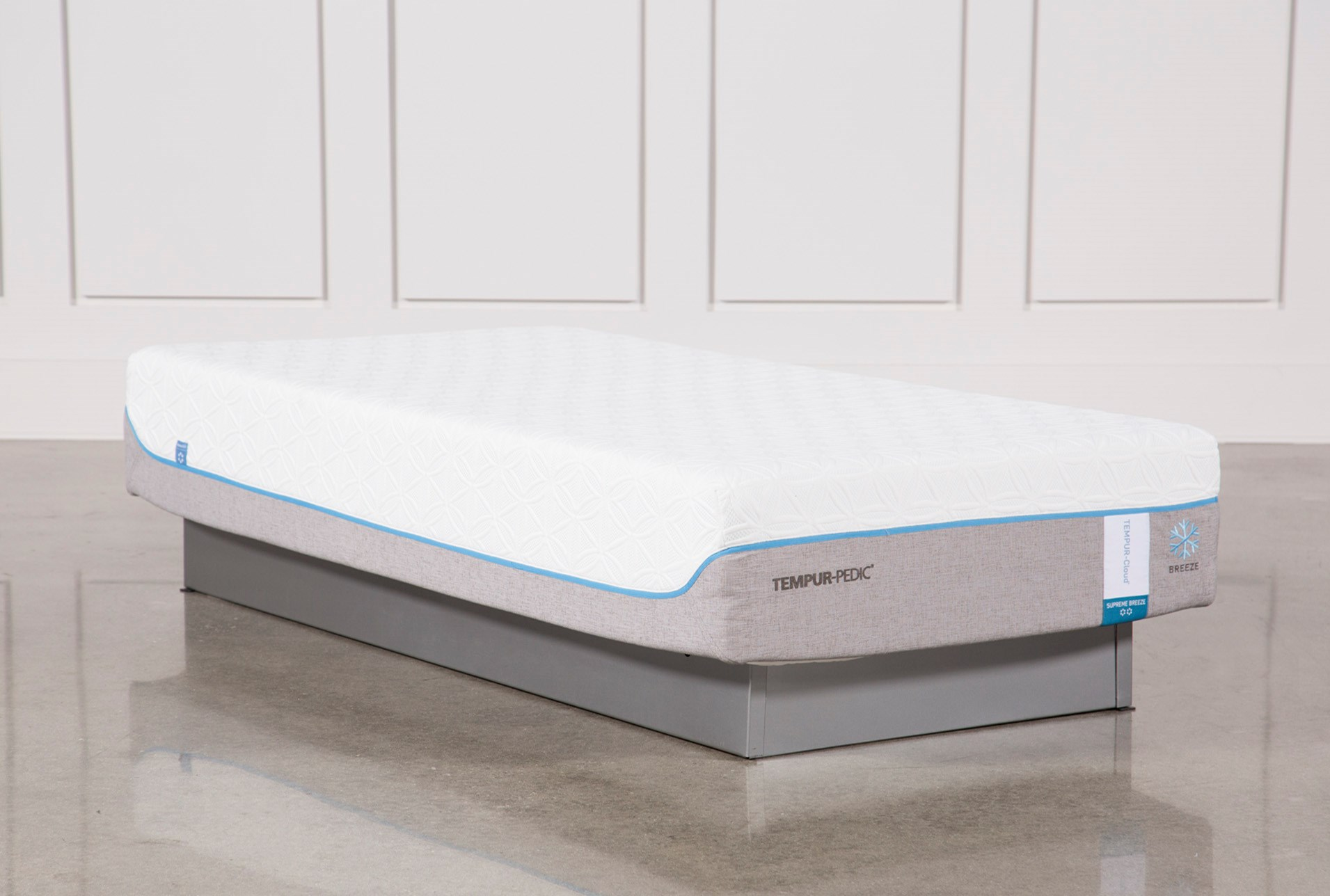 Tempur Pedic Cloud Supreme Breeze 2 0 Twin Extra Long Mattress Qty 1 Has Been Successfully Added To Your Cart